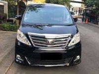 2012 Toyota Alphard X dijual