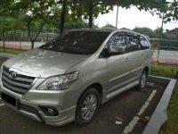 2014 Toyota Kijang Innova G Captain Seat dijual