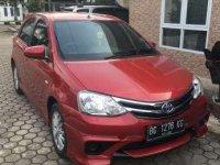 2017 Toyota Etios E dijual
