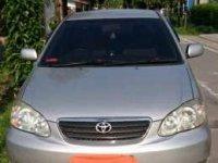 2006 Toyota Corolla dijual