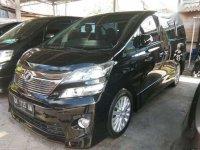 2012 Toyota Vellfire G Dijual