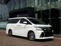 Toyota Vellfire ZG AT Tahun 2015 Dijual