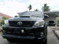 2015 Toyota Fortuner TRD G Luxury Dijual