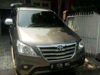 2015 Toyota Kijang Innova G dijual
