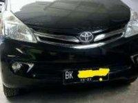 2012 Toyota Avanza type G Luxury dijual