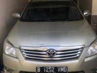 Toyota Kijang Innova 2.0 J 2012 Dijual