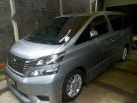 2011 Toyota Vellfire X dijual