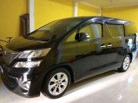 2012 Toyota Vellfire V dijual