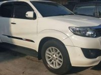 2012 Toyota Fortuner TRD G Luxury Dijual
