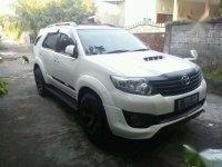 2013 Toyota Fortuner G TRD dijual