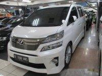 Toyota Vellfire ZG AS 2012 Dijual