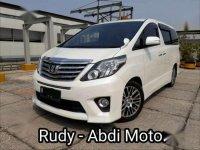 2013 Toyota Alphard SC Dijual