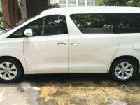 2012 Toyota Alphard 2.4 X AT dijual
