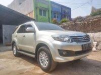 2011 Toyota Fortuner G 2.5 AT Diesel dijual