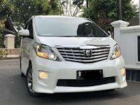 2012 Toyota Alphard 2.4 S AT dijual