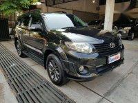 2014 Toyota Fortuner GmTRD dijual