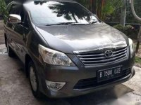 2012 Toyota Kijang Innova E 2.0 Dijual