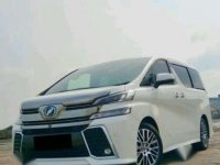 2015 Toyota Vellfire 2.5 ZG Premium Sound dijual