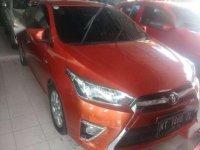2015 Toyota Yaris E dijual