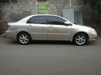 2001 Toyota Corolla Altis J Manual dijual