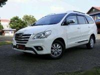2014 Toyota Kijang Innova G Luxury Dijual