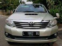 2012 Toyota Fortuner dijual