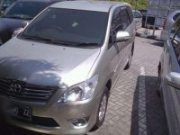 2012 Toyota Kijang Innova dijual