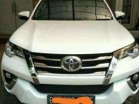 2017 Toyota Fortuner G Dijual