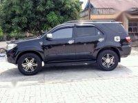 2011 Toyota Fortuner G dijual