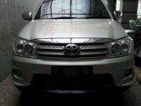 Toyota Fortuner TRD MT Tahun 2011 Dijual