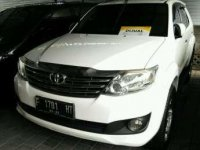 2012 Toyota Fortuner G Luxury  2.7 dijual