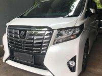 2016 Toyota Alphard 2,5 G dijual