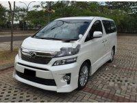 Toyota Vellfire ZG 2014 AT Dijual