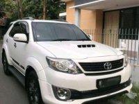 2015 Toyota Fortuner G VNT TRD Turbo Putih dijual