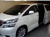 Toyota Vellfire V 2010 Wagon dijual