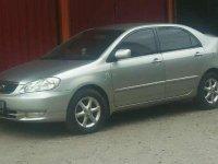2003 Toyota Corolla Altis dijual