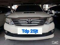 2014 Toyota Fortuner 2.5 TRD G Luxury dijual