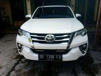 2016 Toyota Grand Fortuner VRZ dijual