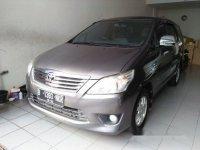 Toyota Kijang Innova 2.0 G 2012 Dijual