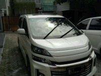 Toyota Vellfire G AT Tahun 2013 Dijual