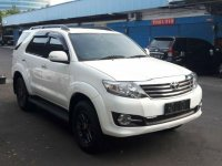 Toyota Fortuner G Luxury 2015 SUV dijual