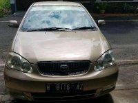 2001 Toyota Corolla Altis dijual