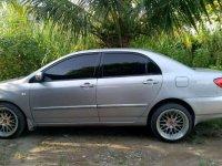 2001 Toyota Altis dijual