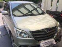 2016 Toyota Inova dijual
