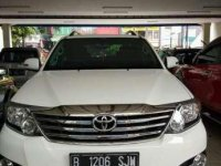 2014 Toyota Fortuner G Luxury dijual