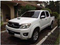 Toyota Hilux E 2010 Putih dijual
