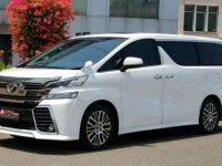 Jual Toyota Vellfire ZG 2015