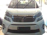 Jual Toyota Vellfire ZG 2012