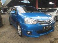 2014 Toyota Etios G 1.2 MT dijual