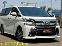 Jual Toyota All New Vellfire 2.5 ZG 2015